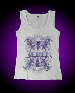 Camiseta Adictium blanca chica