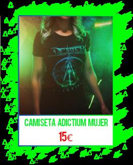 Camiseta Adictium (modelo chica)