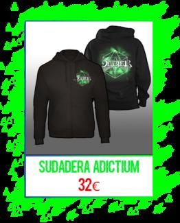 Sudadera Adictium (con cremallera)